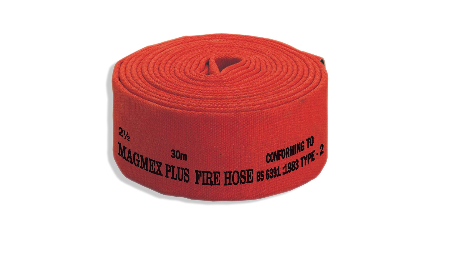 Logo Magmex PLUS Brand Fire Hose