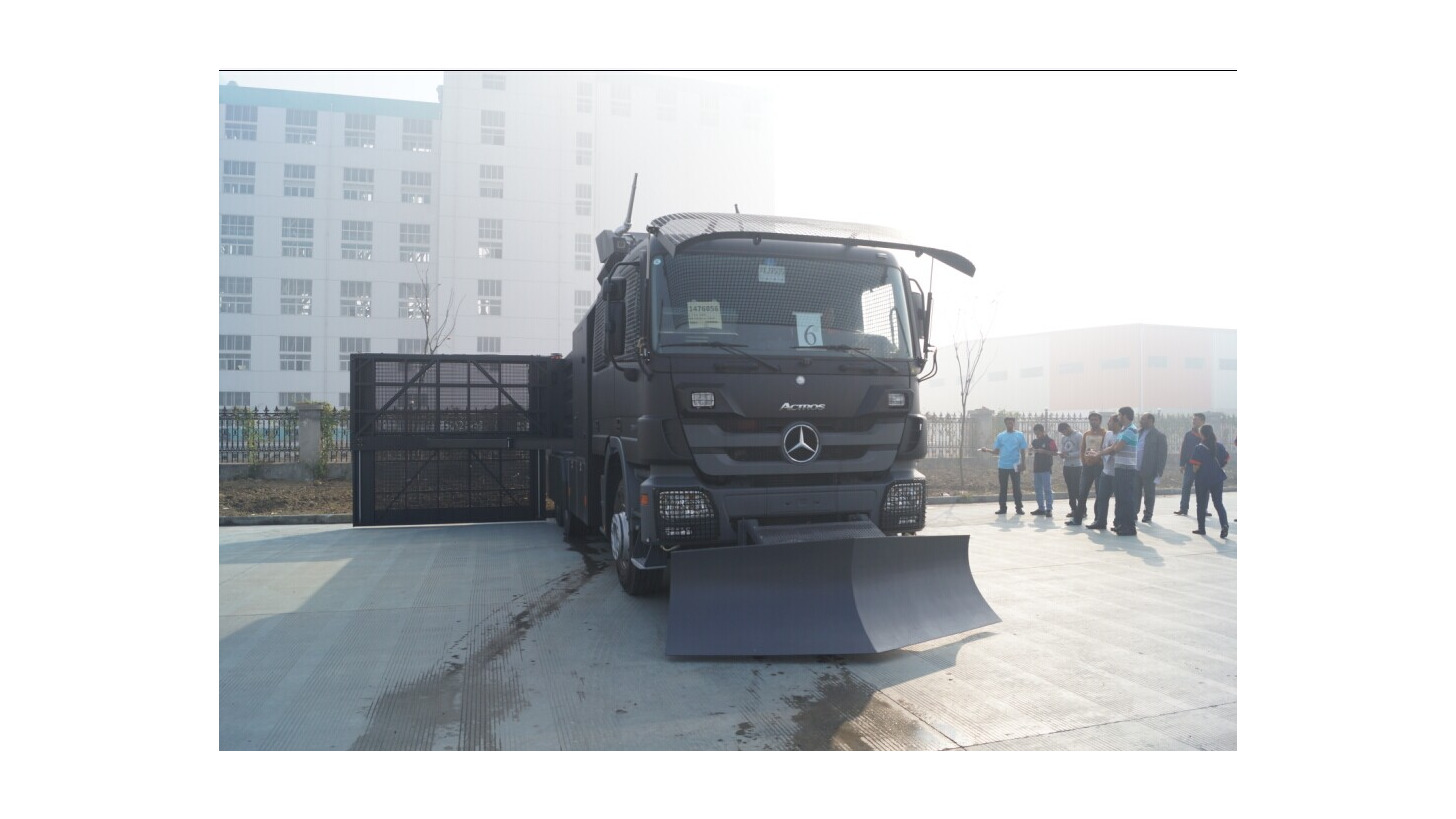 Logo Anti-riot Water Cannon Vehicle