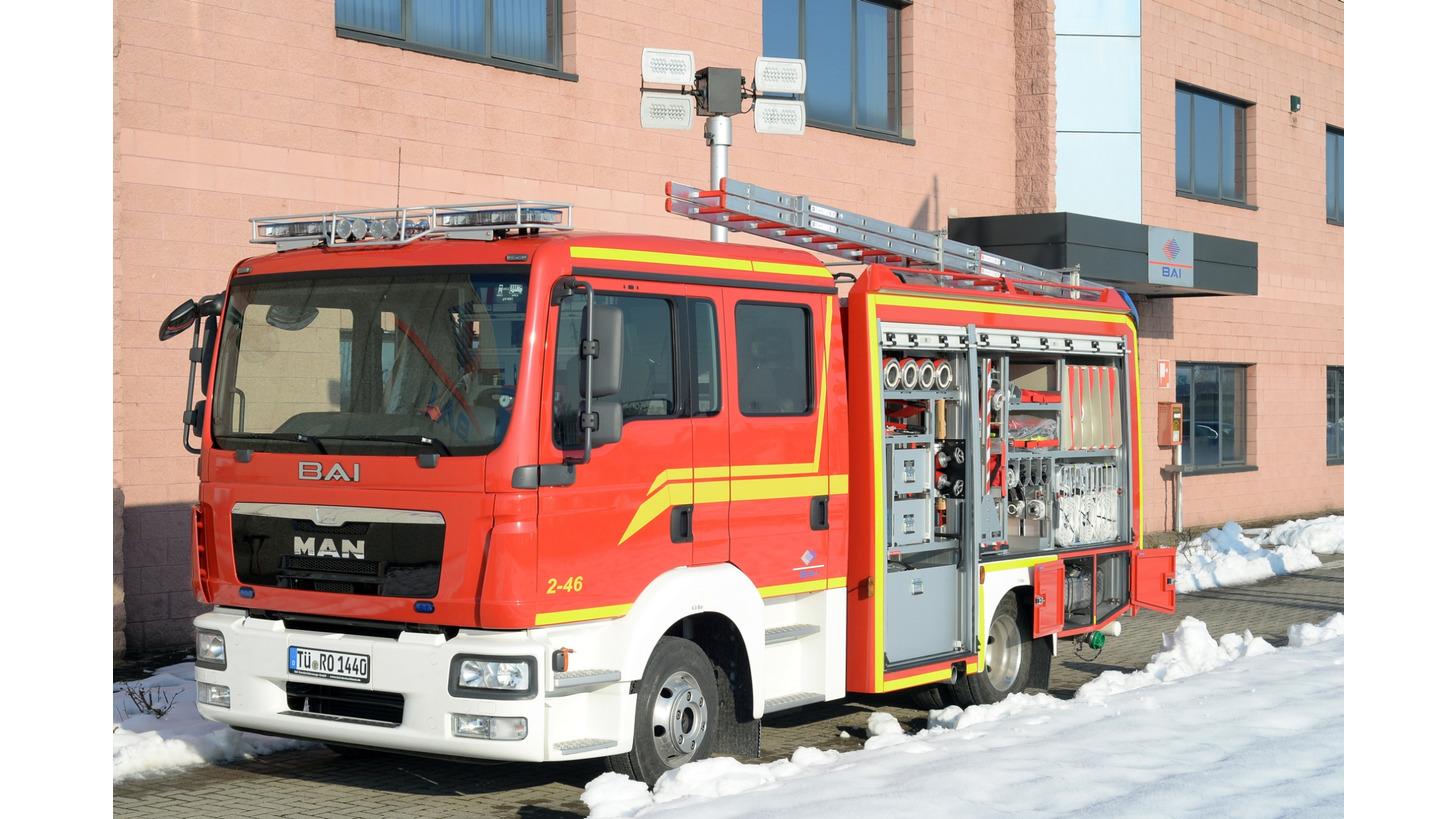 Logo BAI Fire Vehicles in Germany