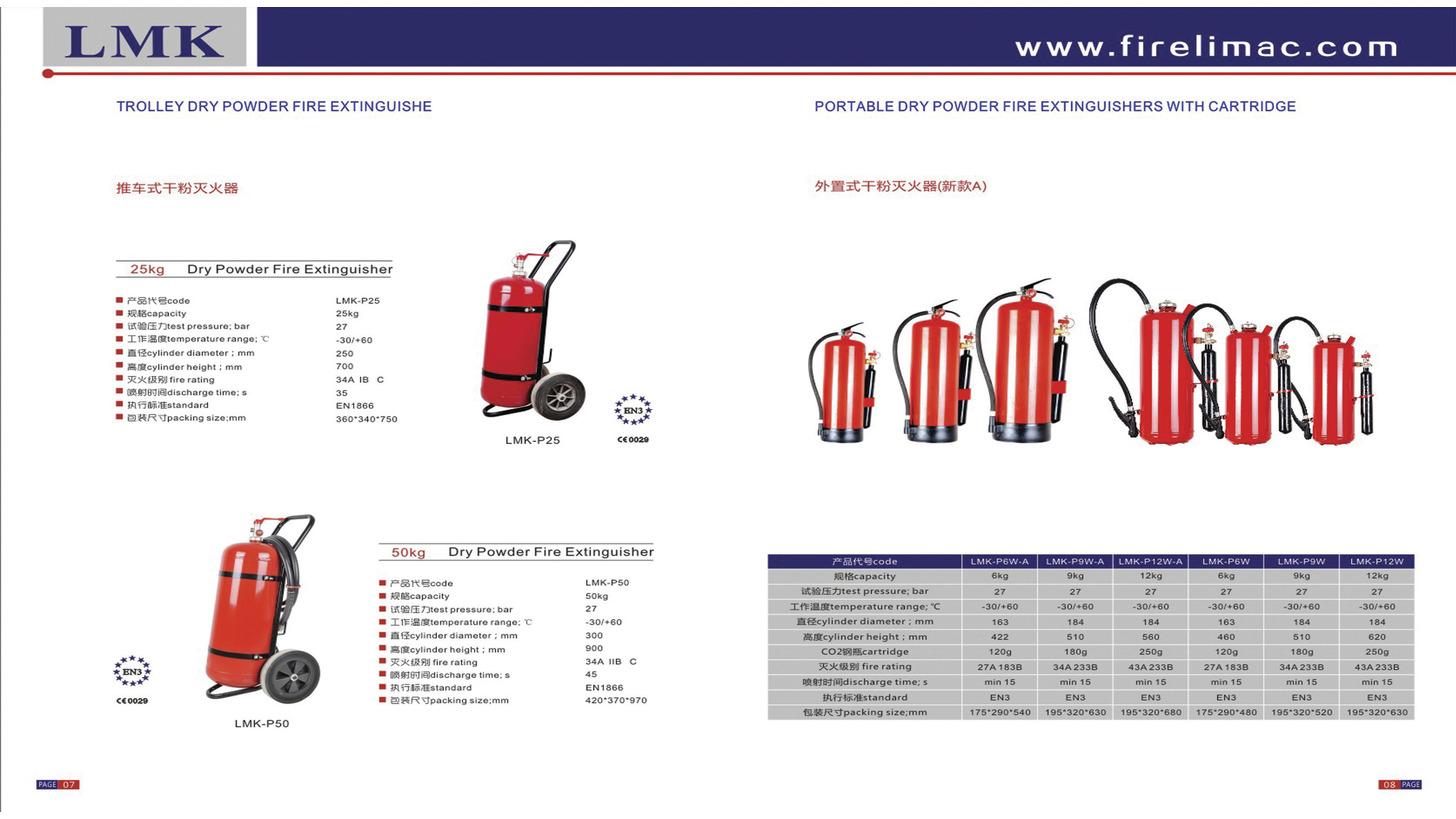 Logo Trolley Dry Powder Fire Extinguishers