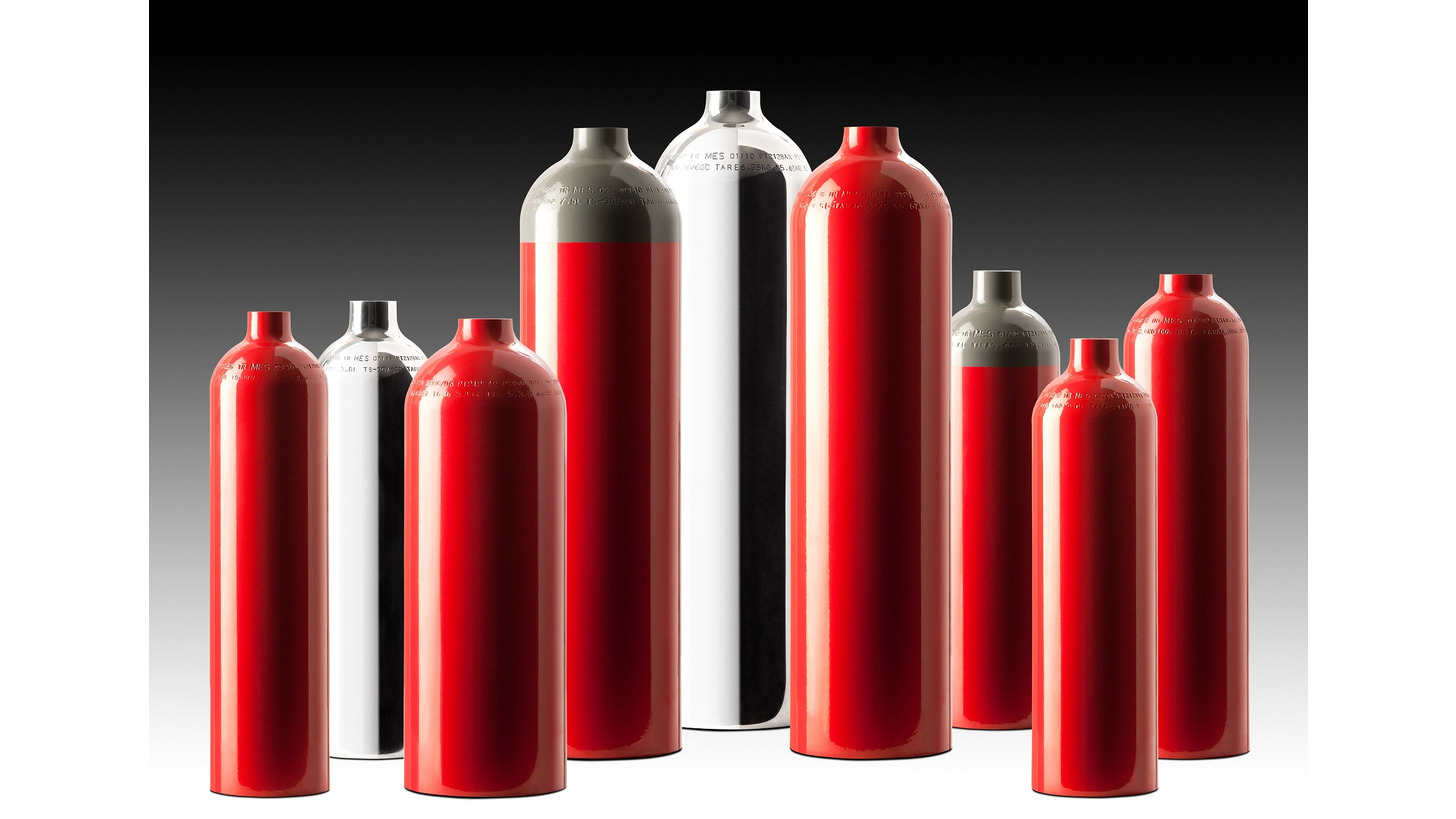 Logo High Pressure Aluminium Gas Cylinders