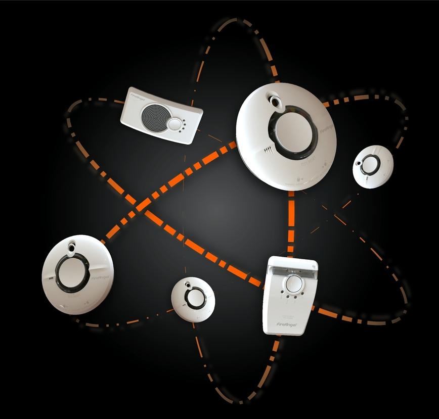 Logo FireAngel W2 Funknetzwerk