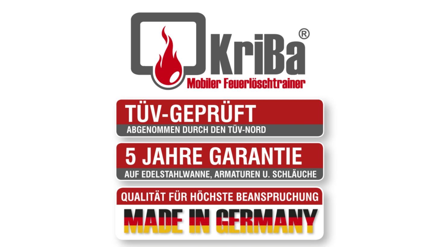 Logo KriBa mobiler Feuerlöschtrainer