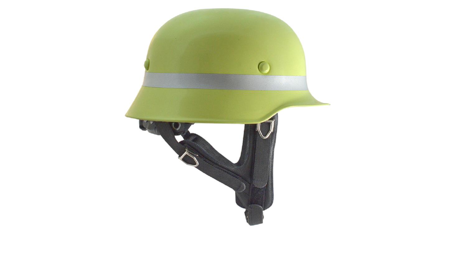 Logo Aluminium Firefighter Helmet