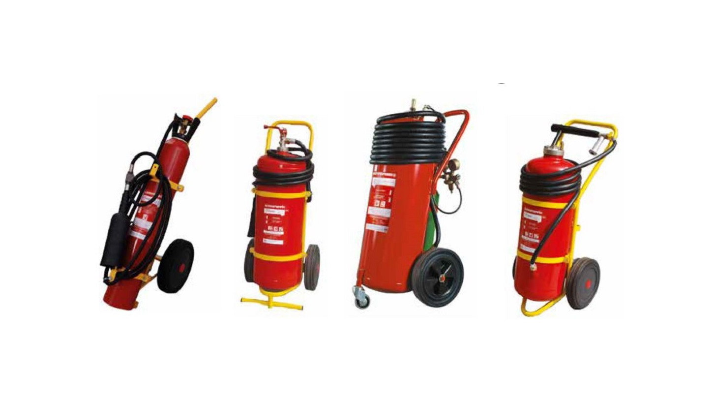 Logo Portable and mobile fire Extinguishers
