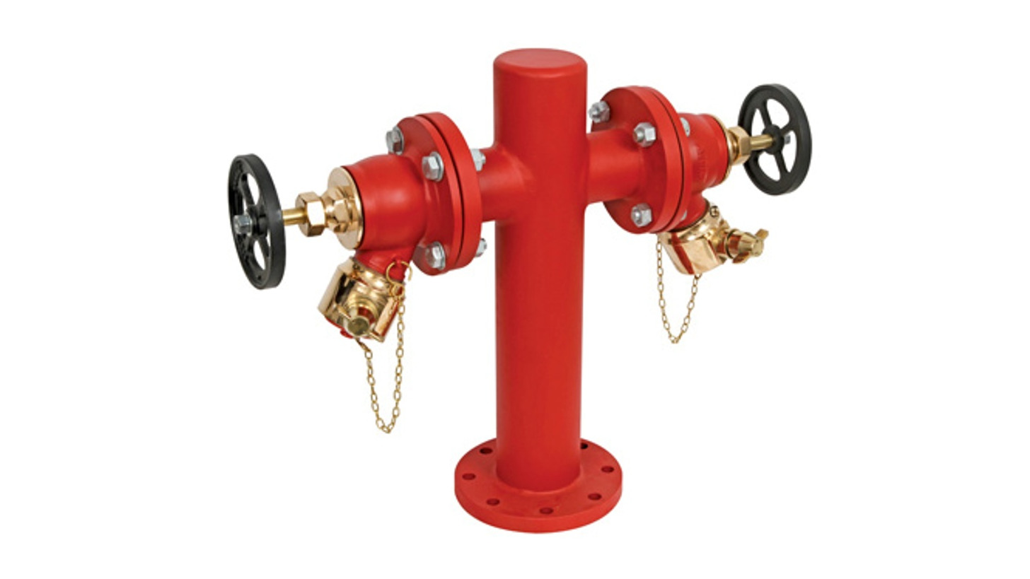 Logo Stand Post Hydrants - 2 Way & 4 Way