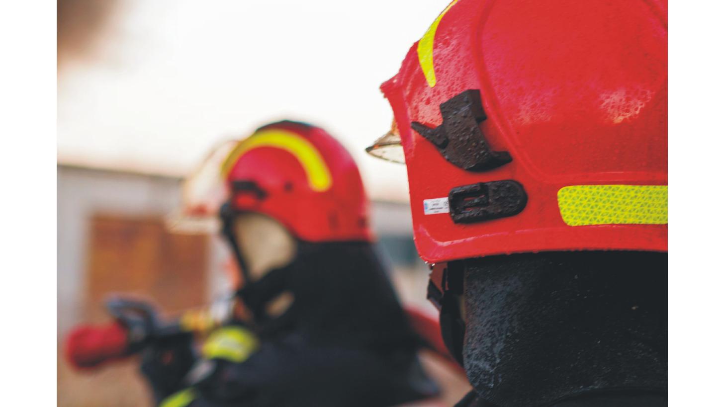 Logo Helmet for rescuers TYTAN type HOT101.03
