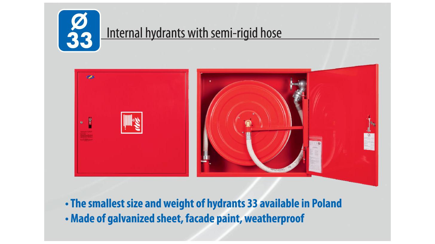 Logo Internal hydrants with semi-rigid hose