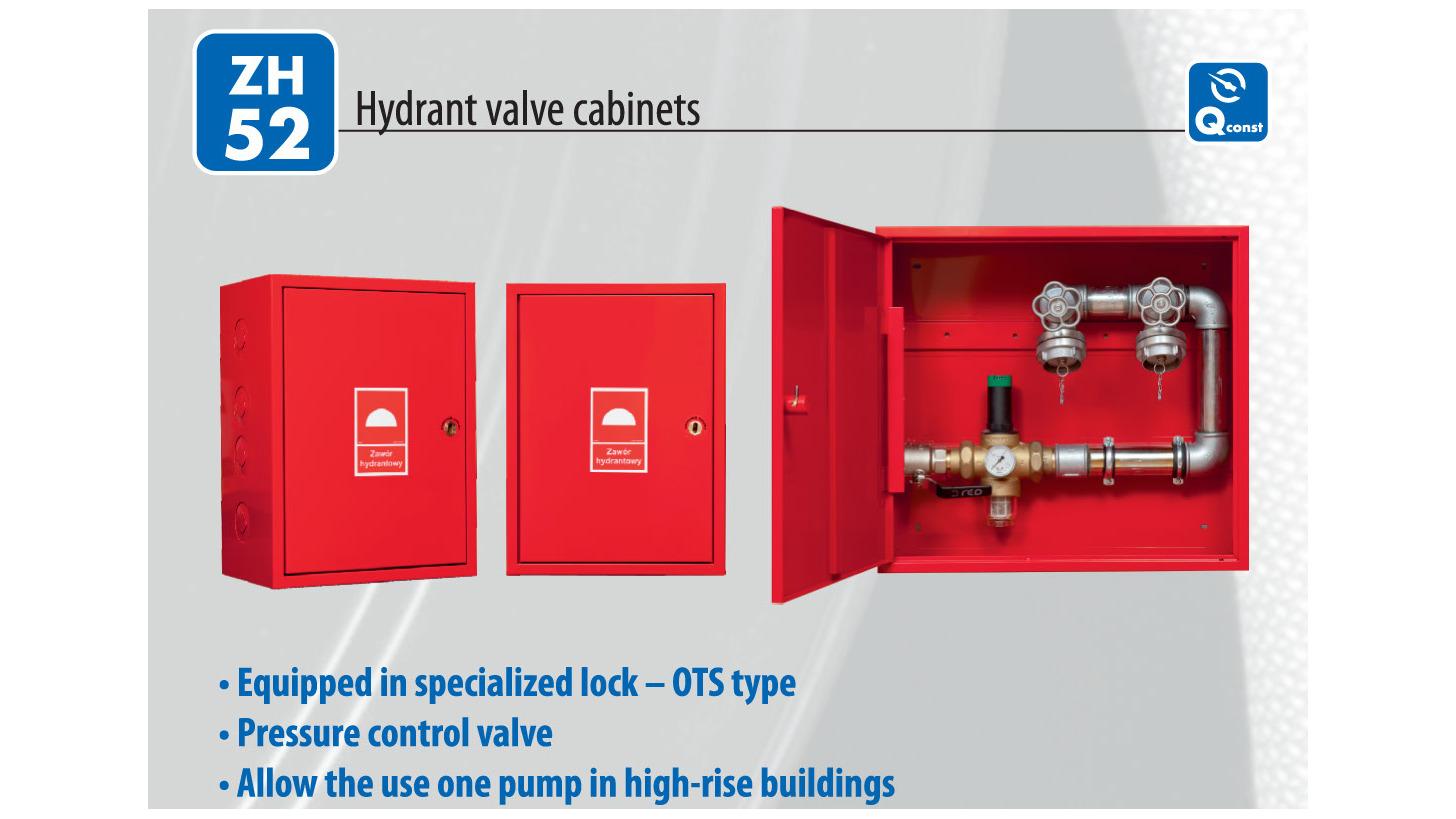 Logo Hydrant valve cabinets