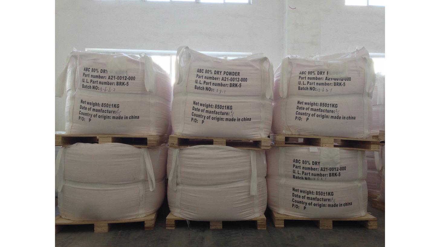 Logo ABC Dry Chemical Powder