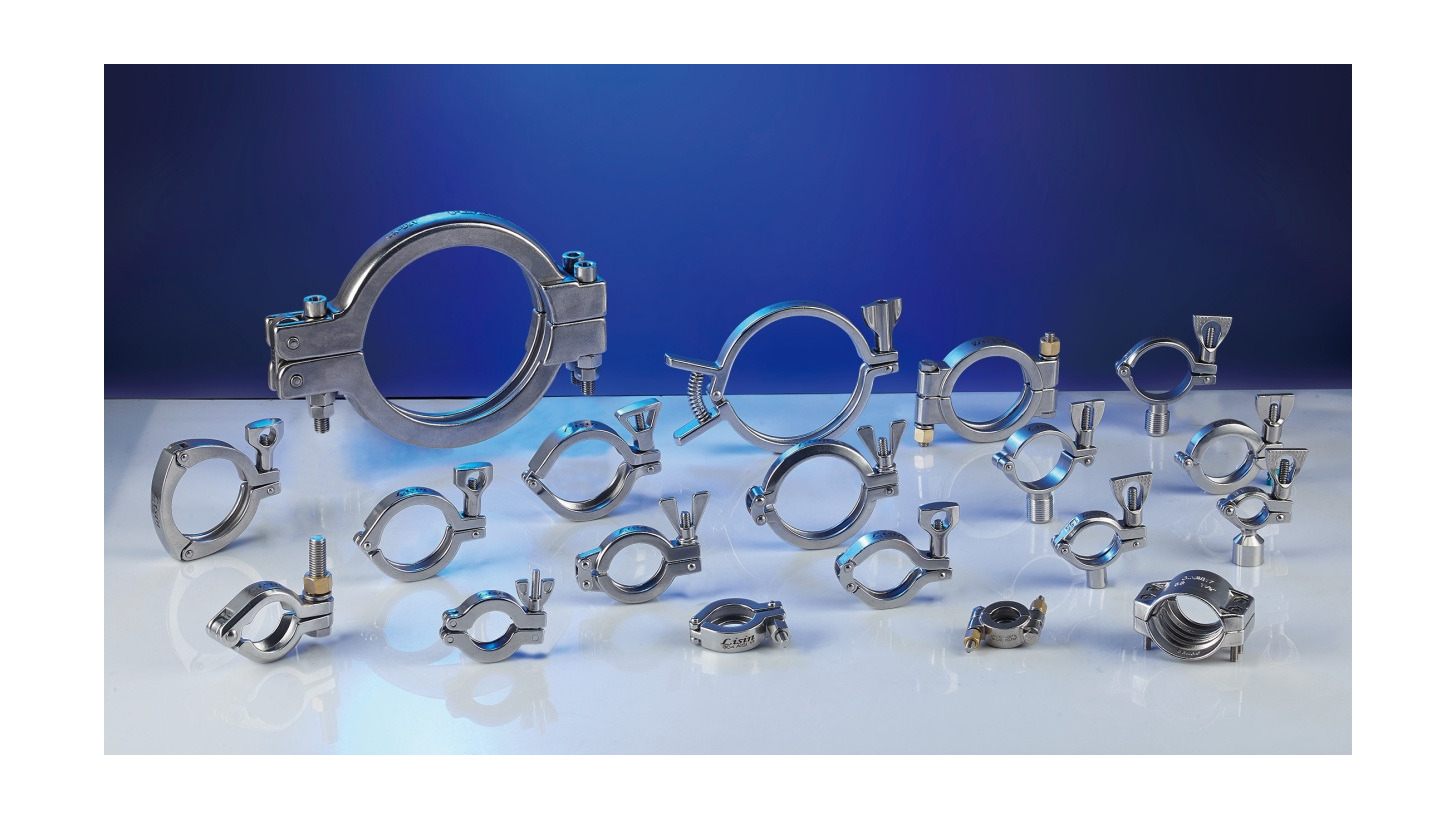 Logo Stainless Steel Pipe Clamp
