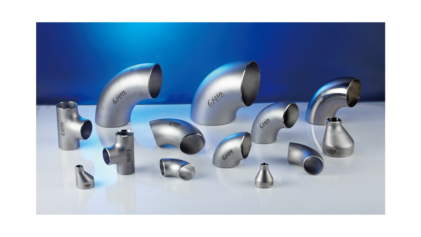 Logo Stainless Steel Industrial Pipe Fittings
