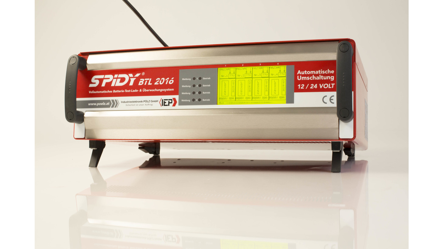 Logo Battery Testing and Charging Systems