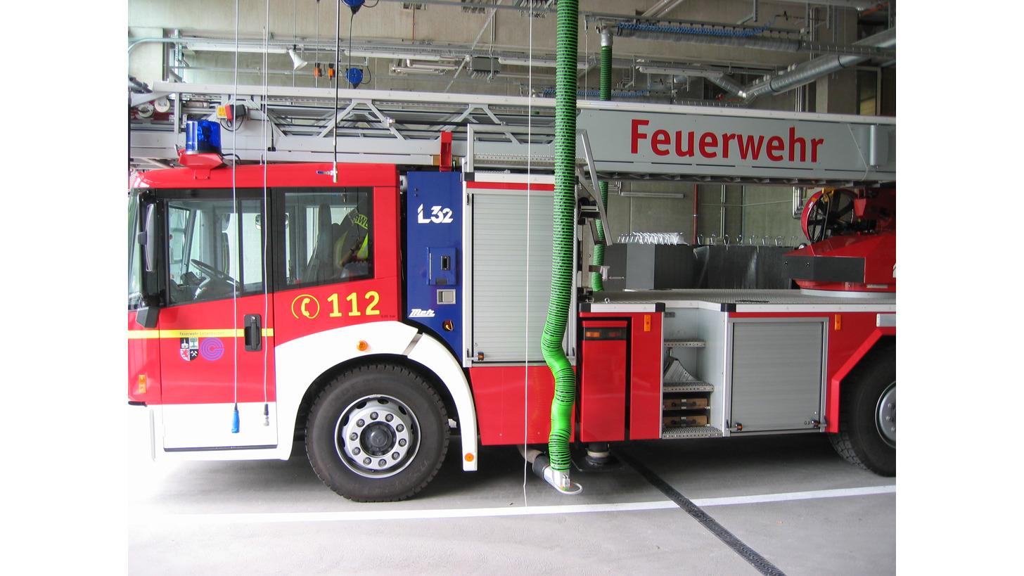 Logo Abgasabsaugung für Feuerwehren