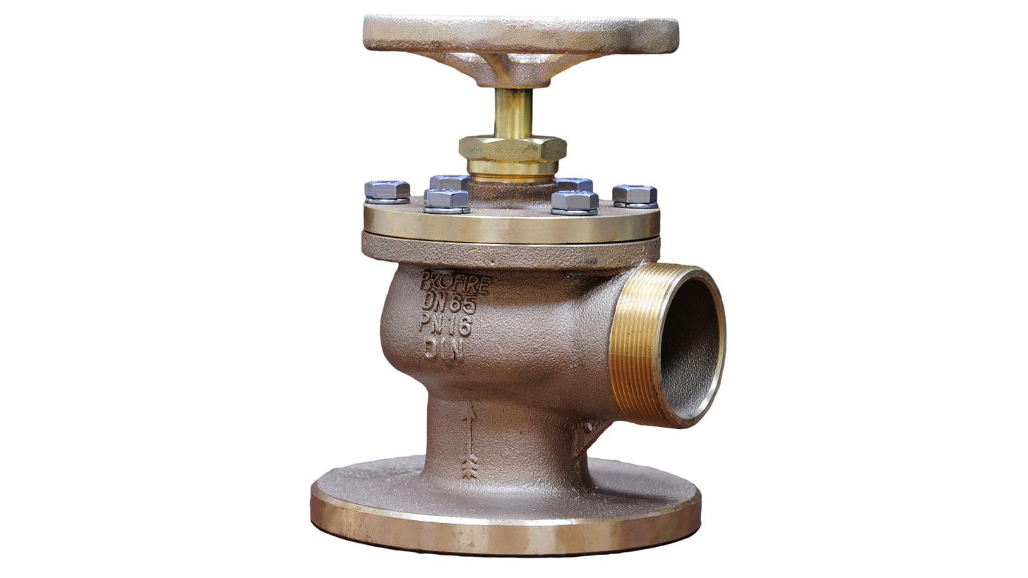 """Logo 2.5"""" Hydrant valve DNV approval"""