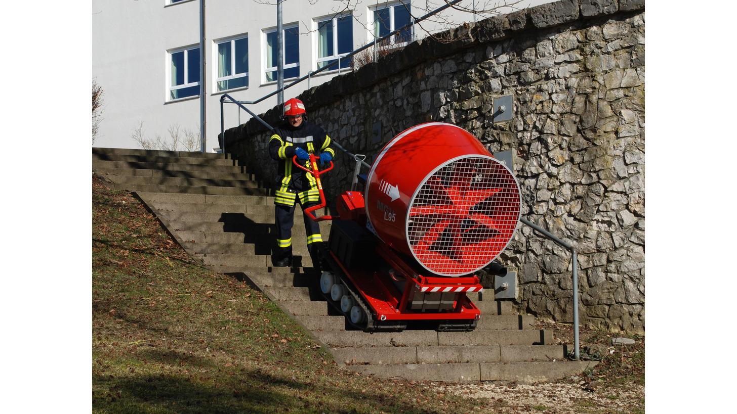 Logo MGV L95 Mobiler Großventilator