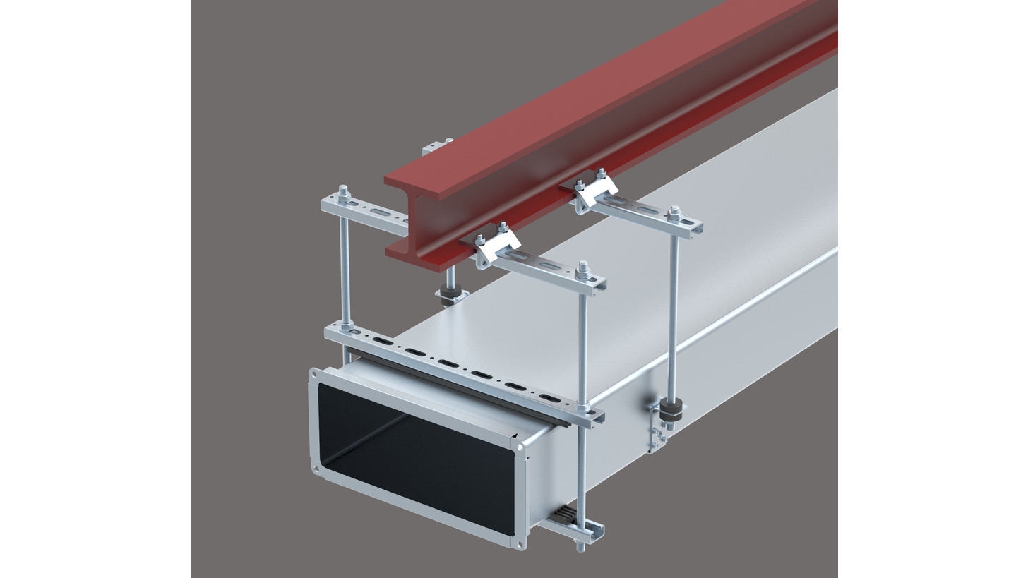 Logo Ventilation Fixing System