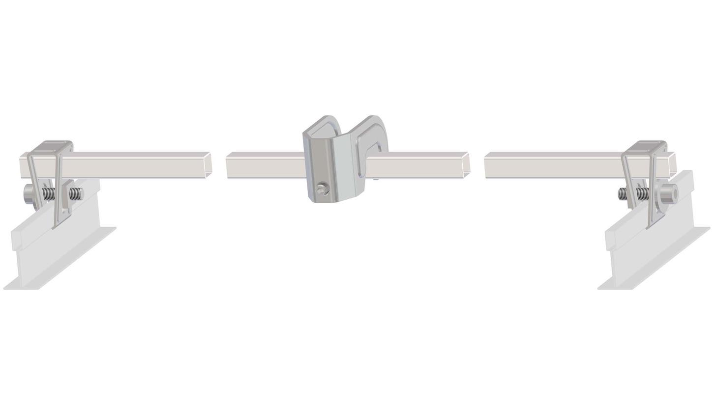 Logo VIROTEC®-Halterung VX-SH für Rastedecken