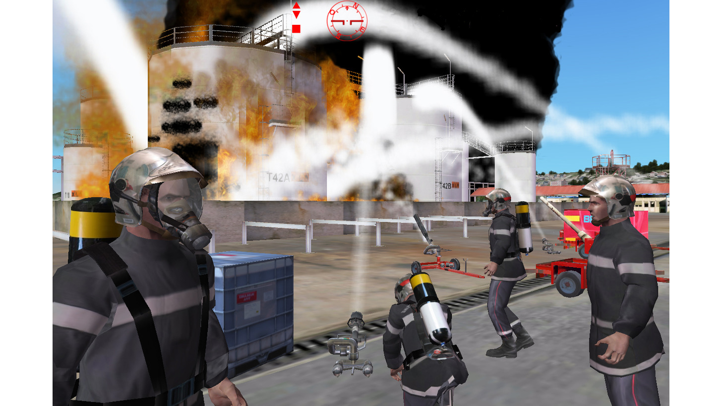 Logo Industrial incident training simulation