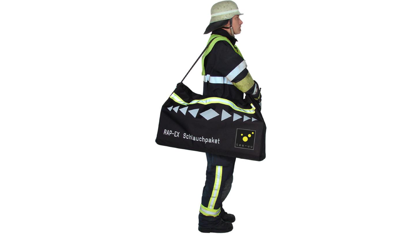 Logo RAP-EX Schlauchpaket-Tasche