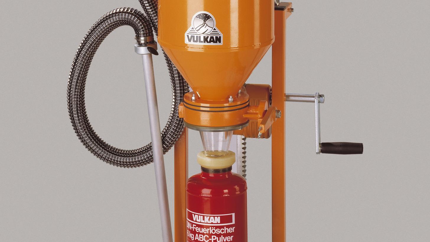Logo Mobile Powder-Refilling Machines