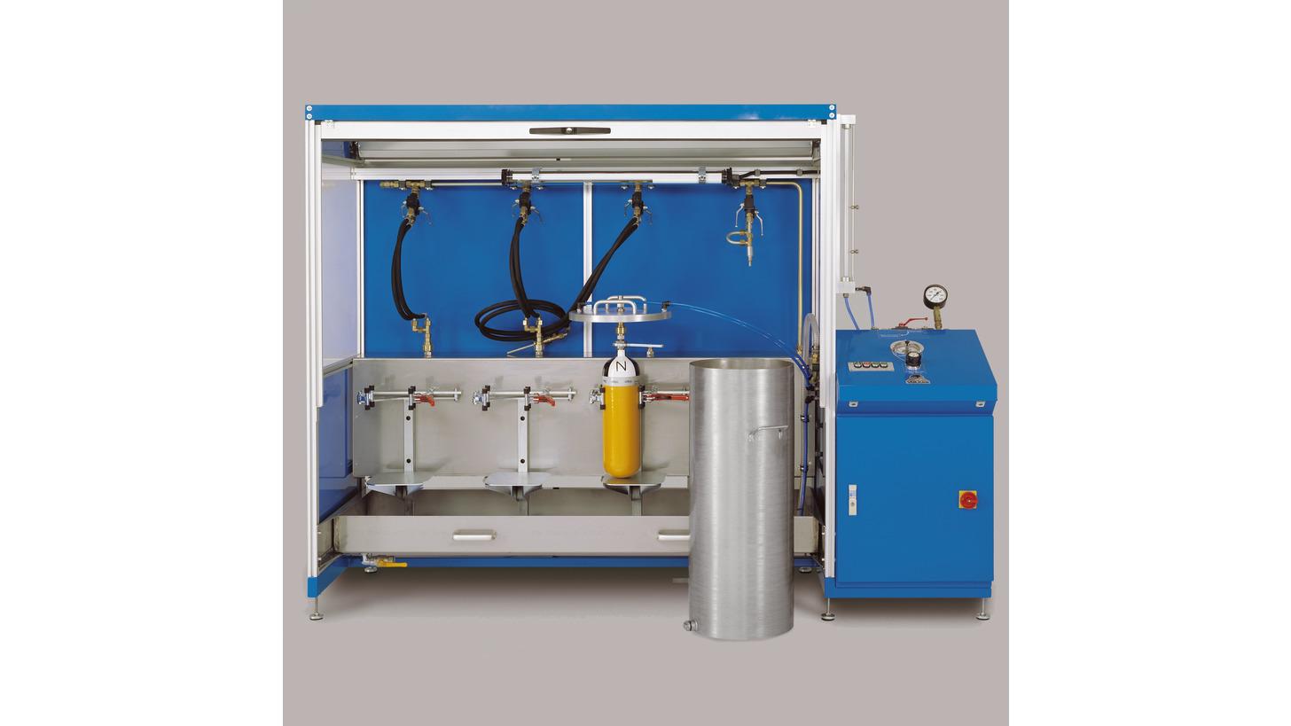Logo Hydrostatic Pressure Testing Machines