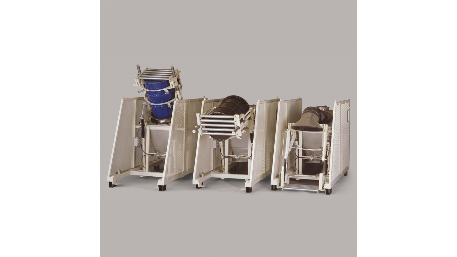 Logo Barrel emptying appliance