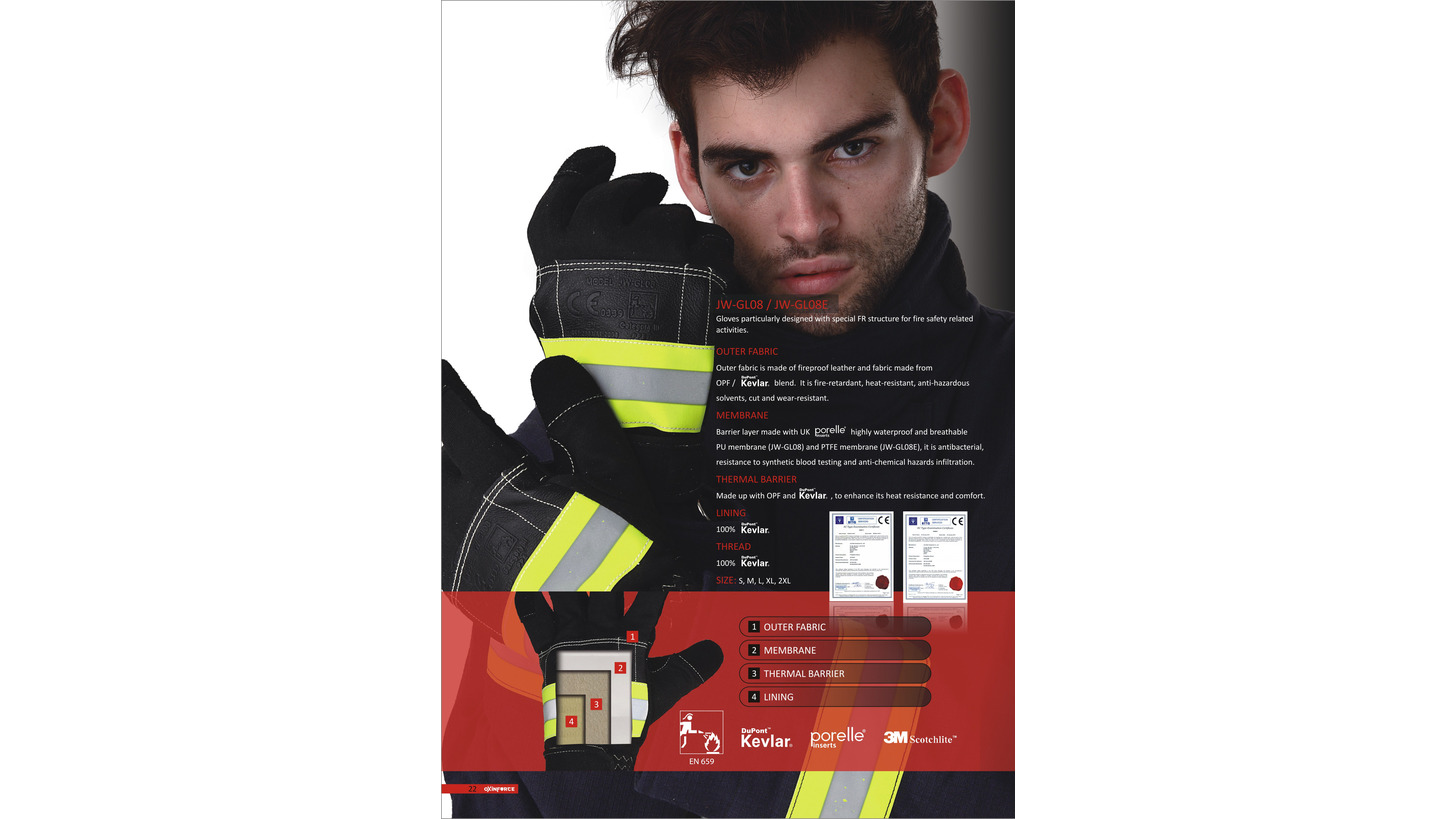 Logo Oxinforce Fire Gloves