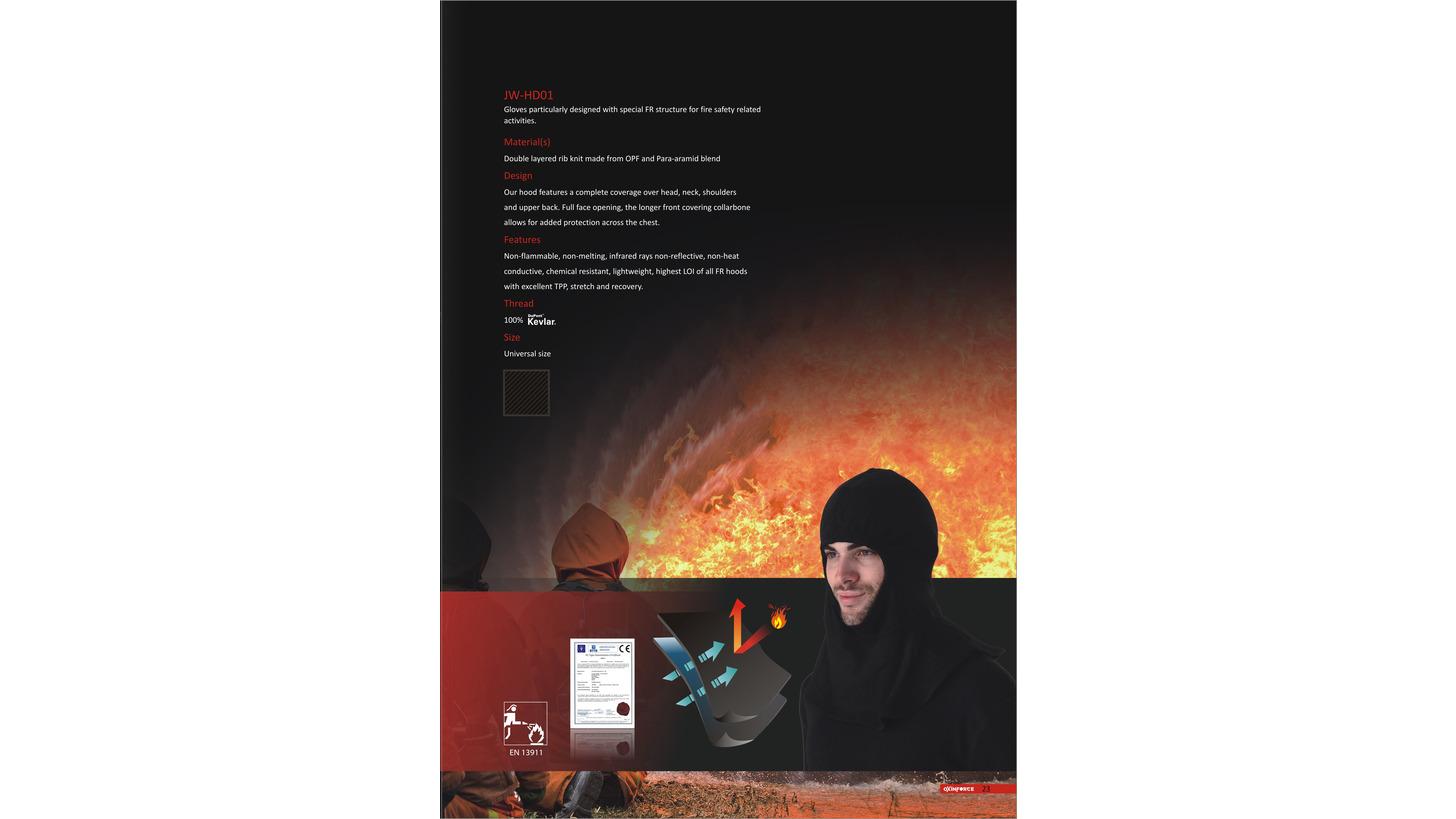 Logo Oxinforce Fire Hood