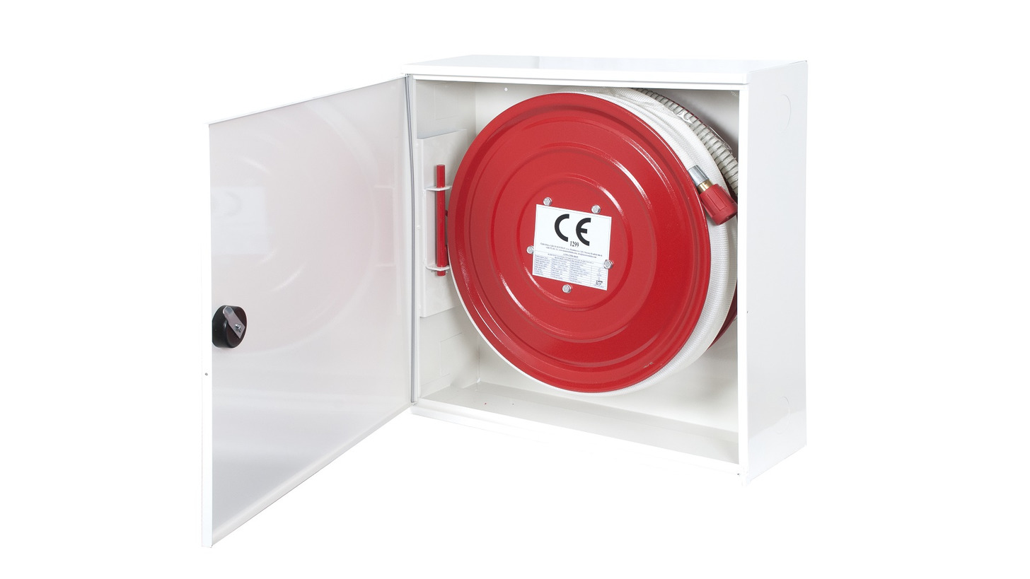 Logo Hydrant system (Hose reel with cabinet)