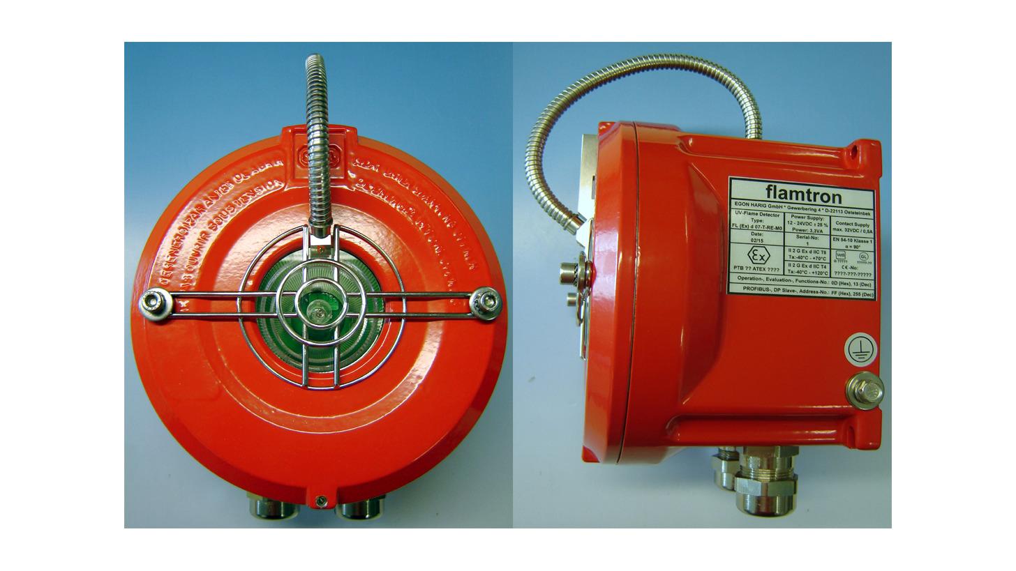 Logo UV-Flame Detector FL (Ex) d 07...-...