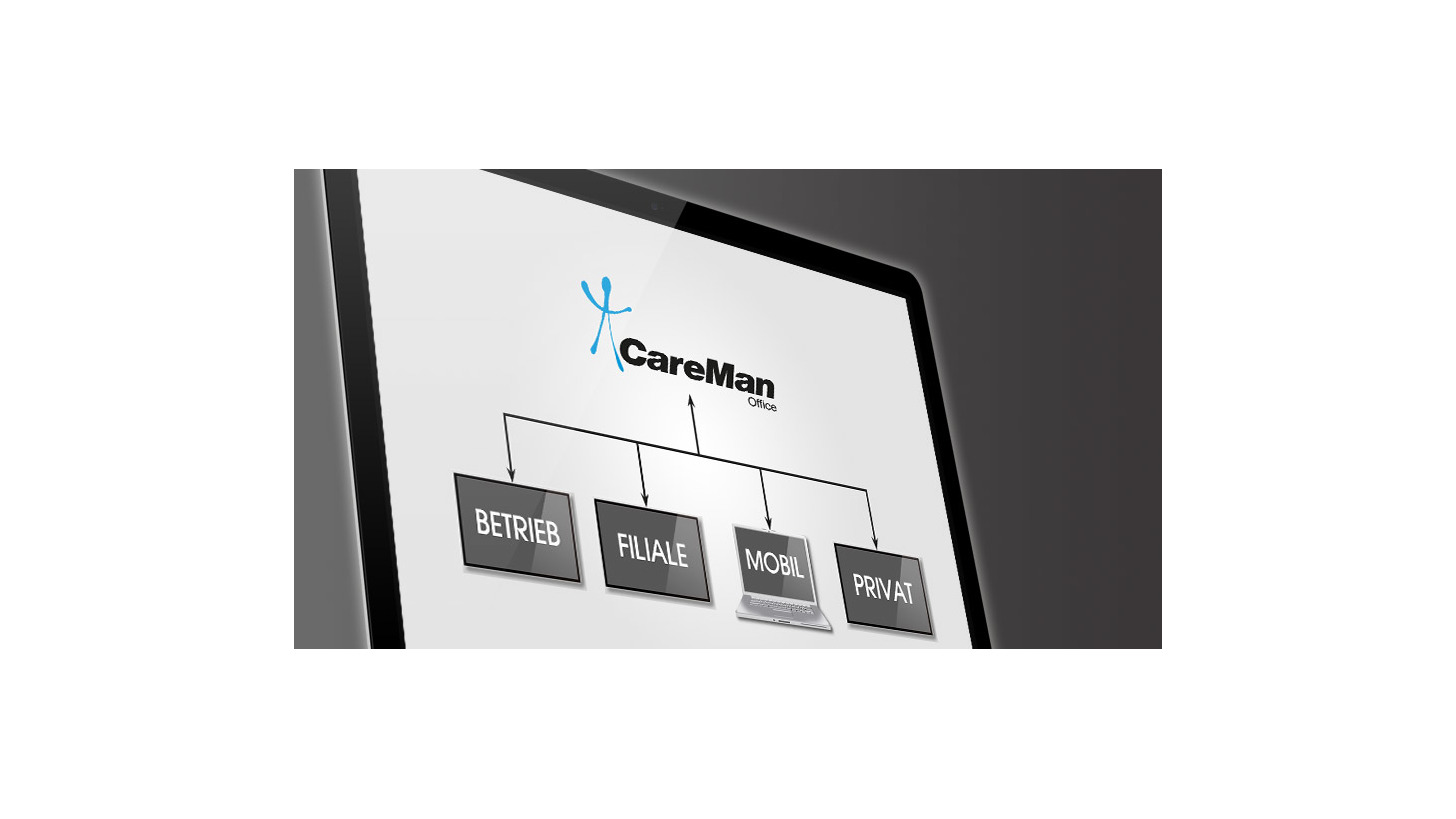 Logo CareMan Office Server-Hosting