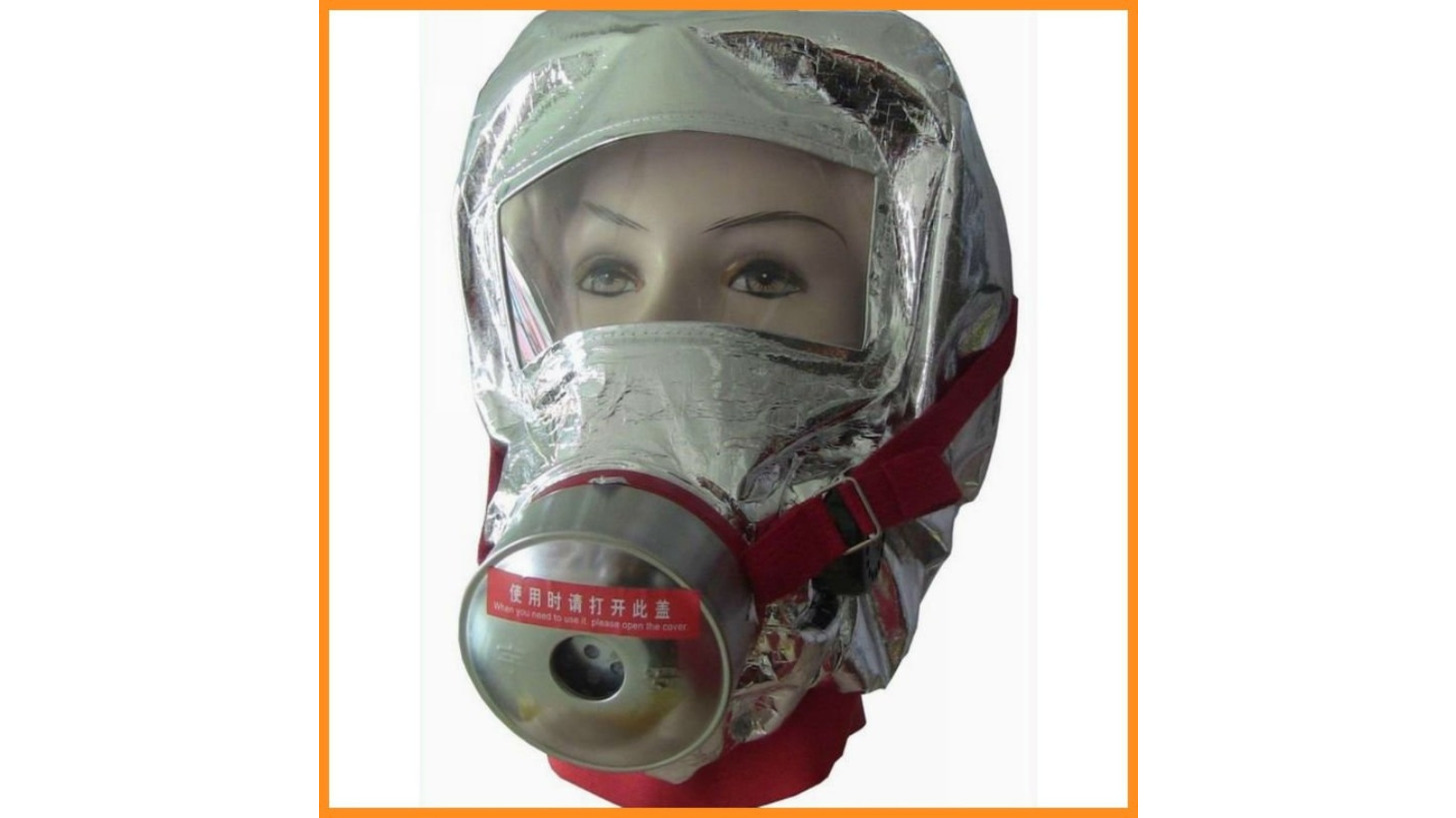 Logo Fire Escape Mask / EEBD