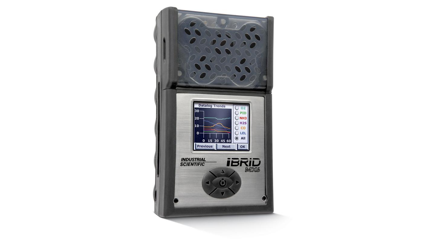 Logo MX6 iBrid - Portable Multi-Gas Monitor