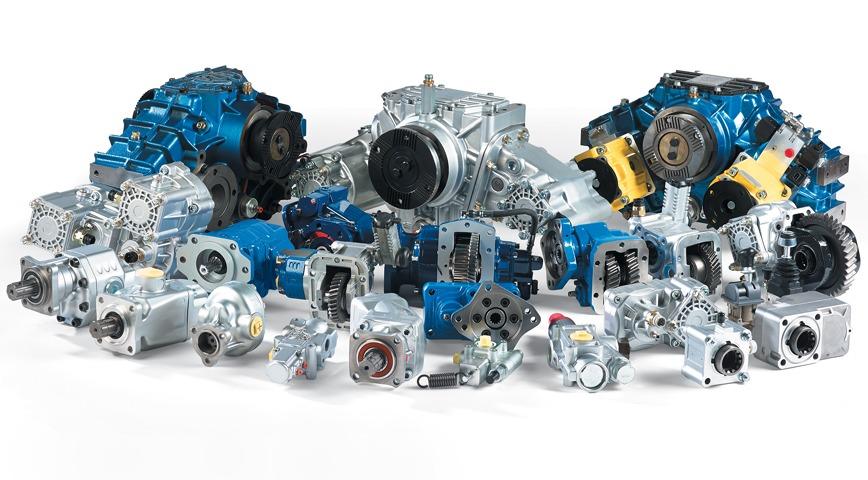 Logo PTO, Powertrain & Hydraulic Components