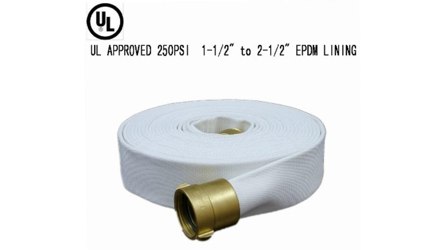 Logo UL Listed EPDM Fire Hose (250PSI)
