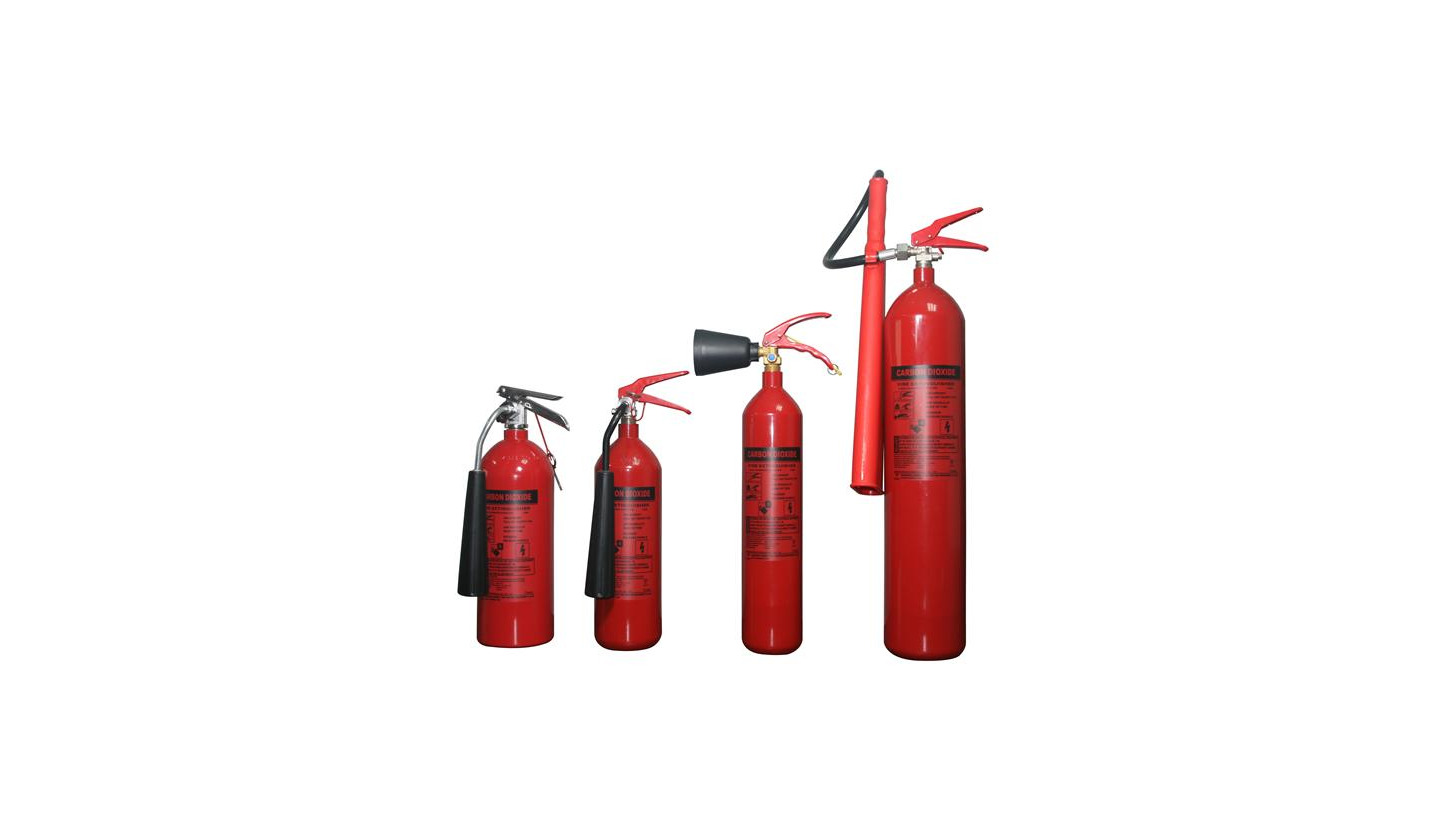 Logo CO2 fire extinguisher