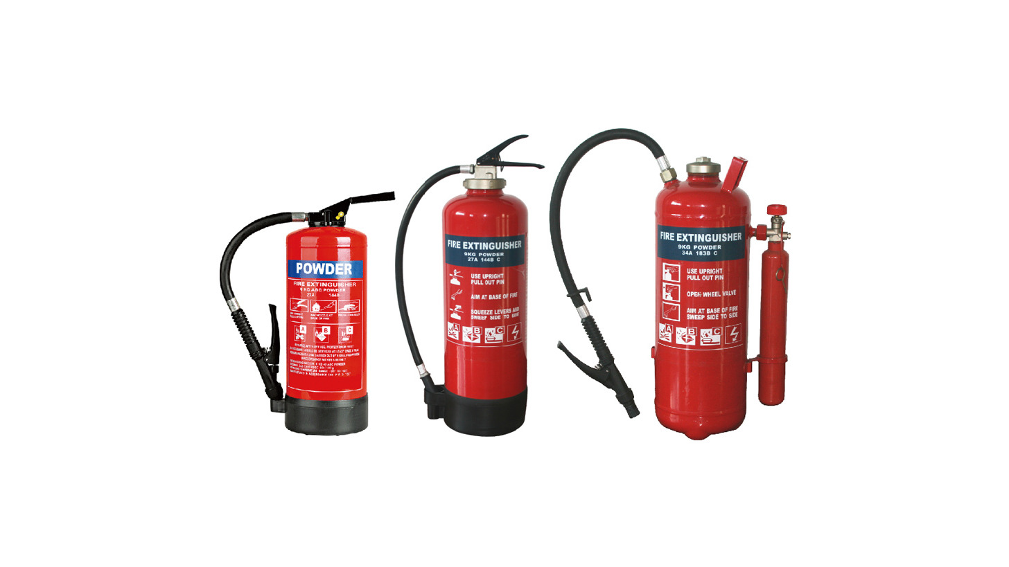 Logo Fire extinguisher with gas cartridge