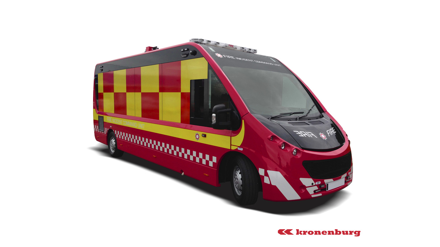 Logo Incident Command Vehicle