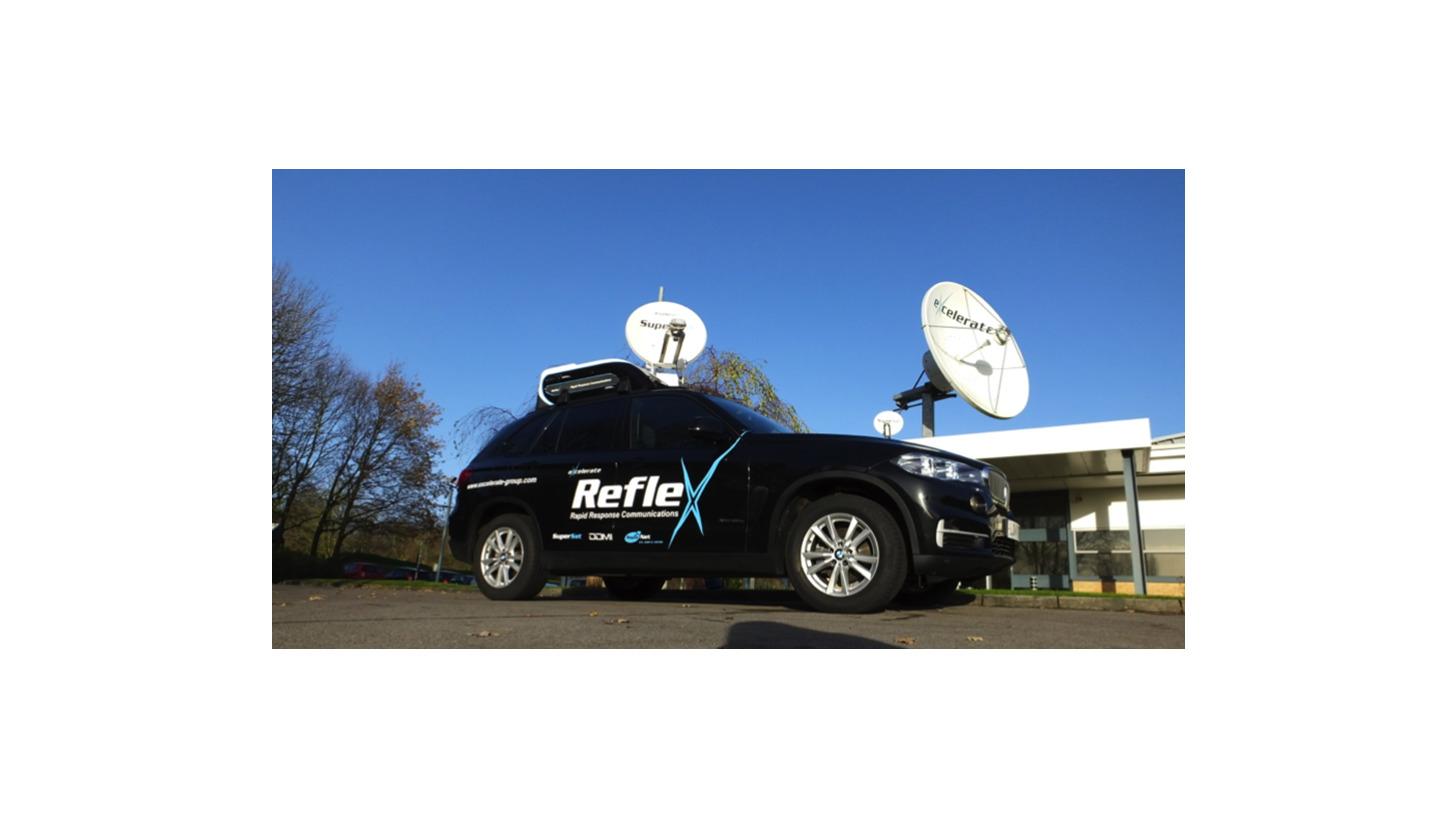 Logo Reflex - Vehicle Mounted Command Pod