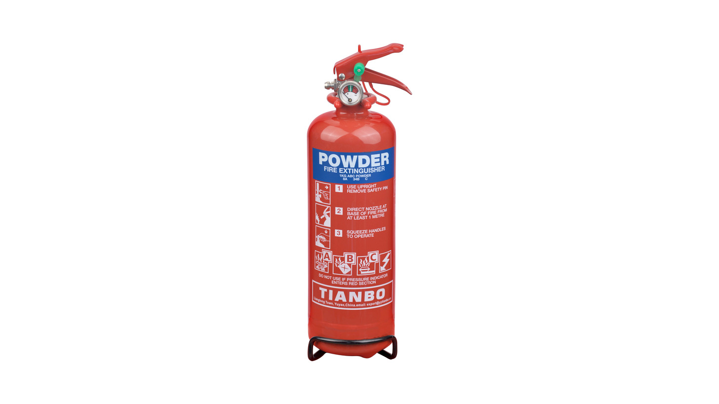 Logo 1kg powder extinguisher