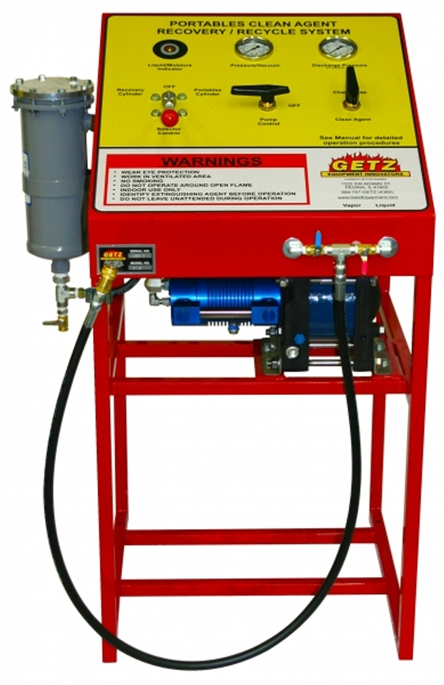 Logo Halogenated Agent Closed Recovery System