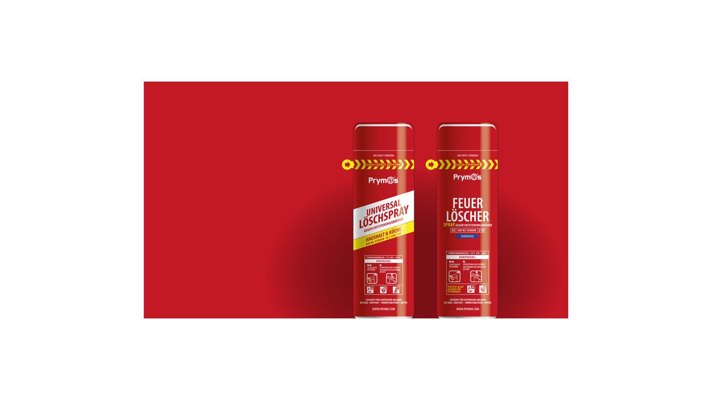 Logo Prymos Feuerlöscher-Sprays HOME-LINE