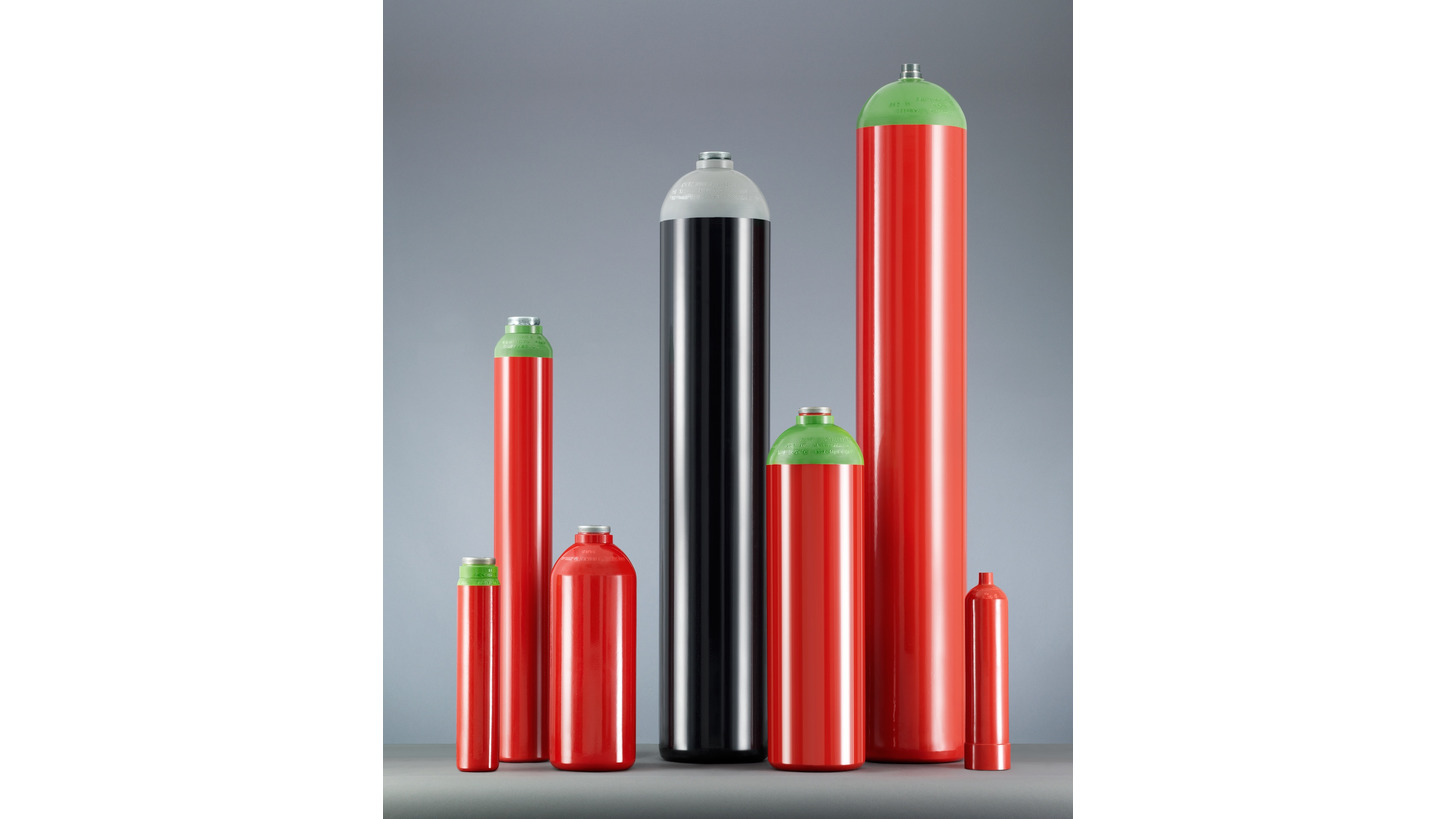 Logo High-pressure seamless steel cylinders