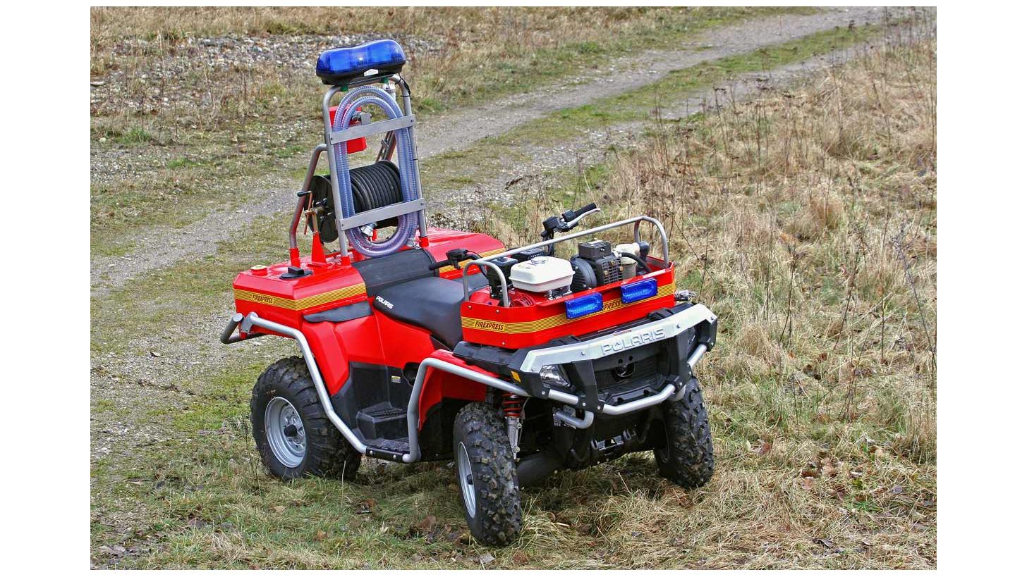 Logo Firexpress fire fighting ATV