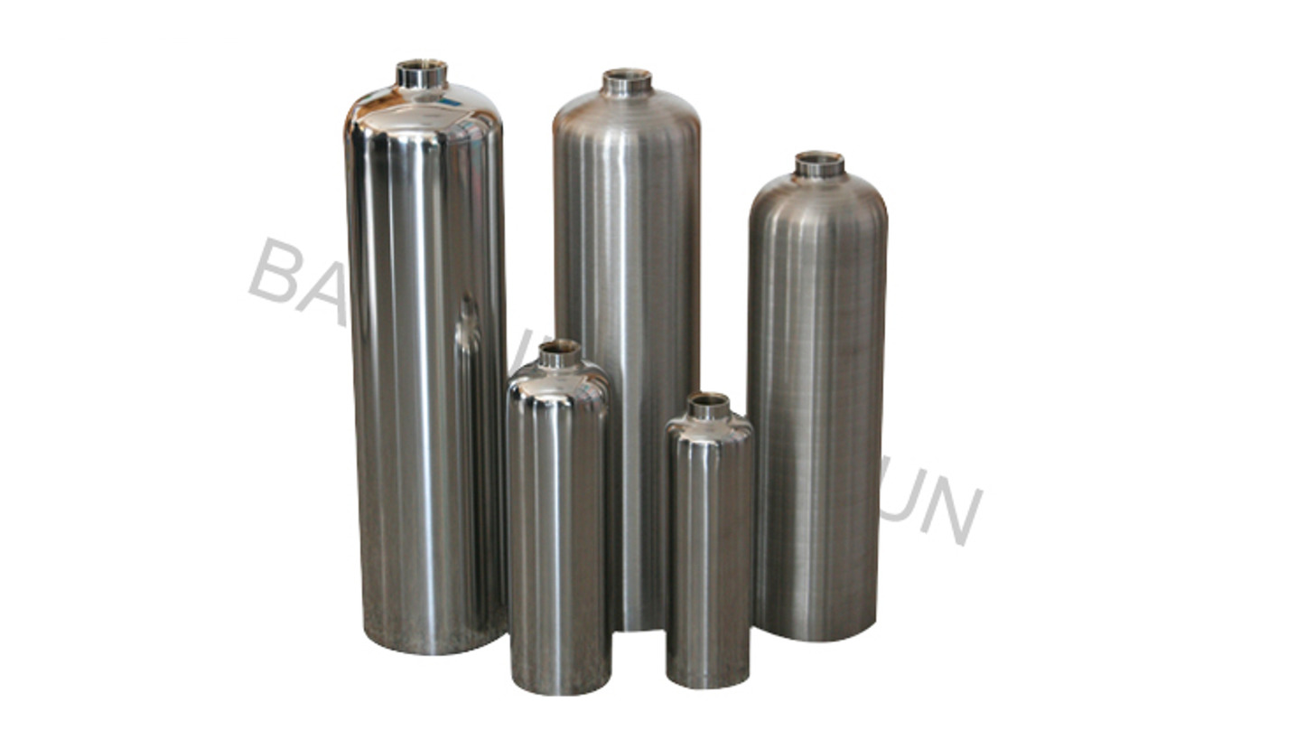 Logo Stainless Steel Cylinder