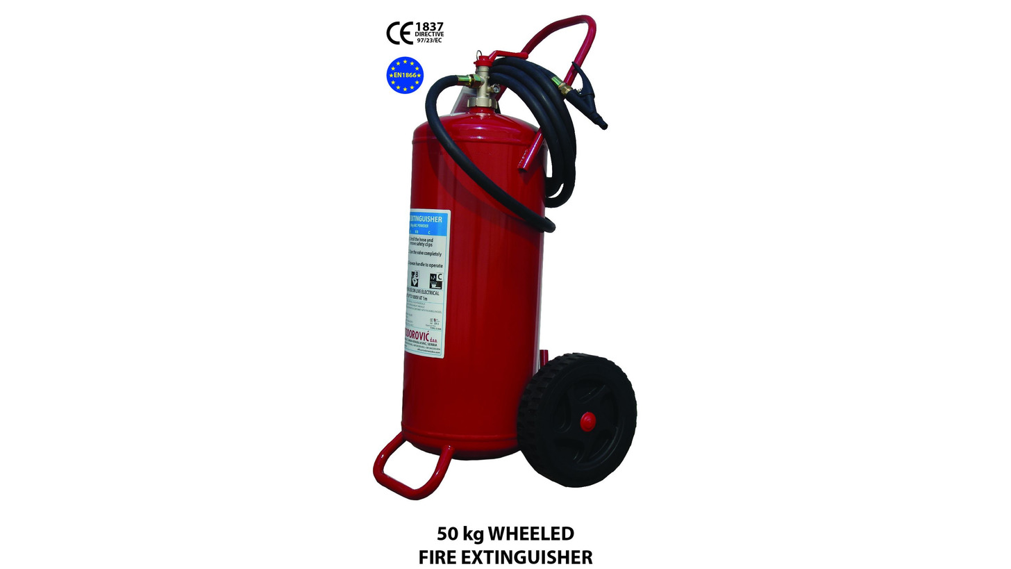 Logo 50 kg FIRE EXTINGUISHER