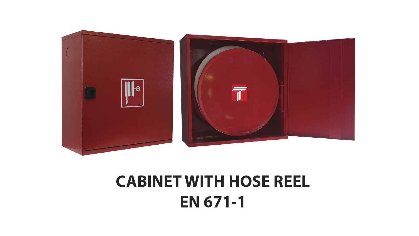 Logo CABINET WITH HOSE REEL