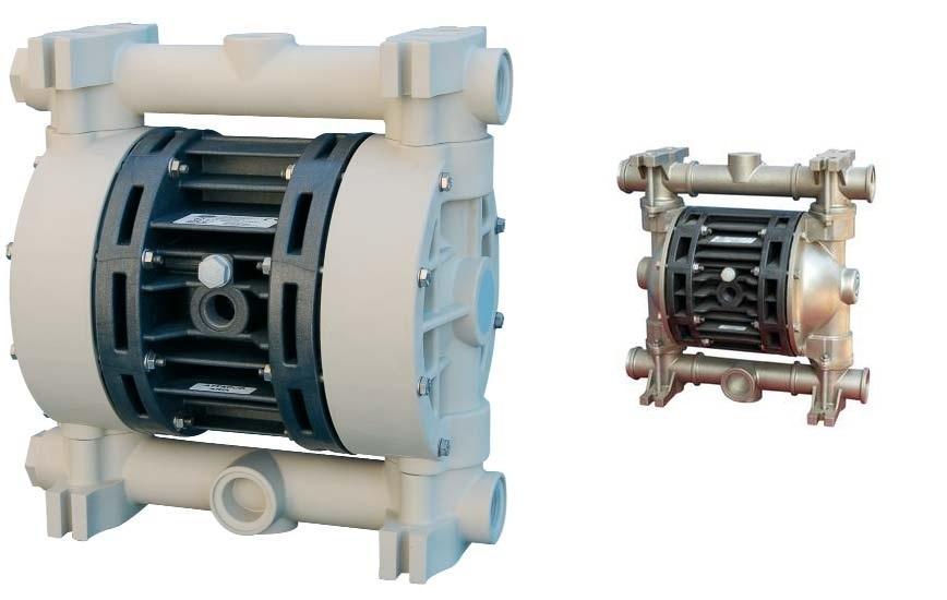 Logo Air operated diaphragm pumps