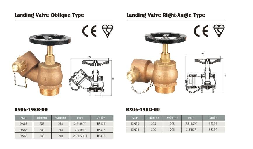 Logo Landing valve